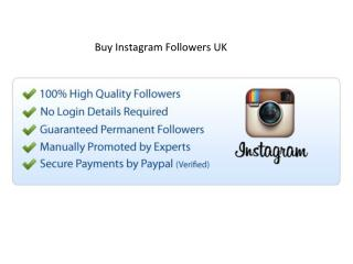 Buy Instagram Followers and Your Business 2018