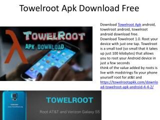 Towelroot APK Latest Version (V2/V3/V4/V5) Download Free