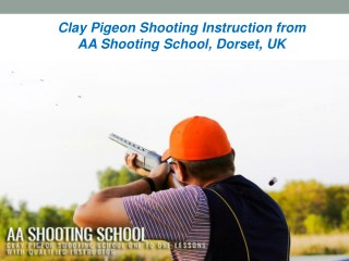 Learn Clay Pigeon Shooting Instruction from AA Shooting School, Dorset, UK