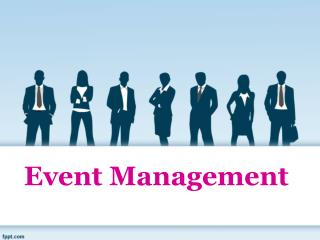 Select an event organizer and carry out the entire analysis for that company in the form of a case study