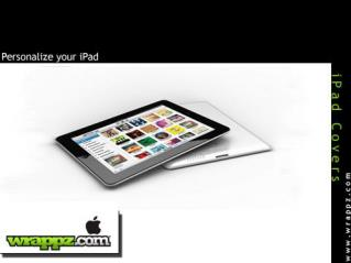 Protect Your iPad with Latest iPad Covers by Wrappz.com