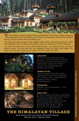 Best Luxury Resort in Manali - Hotel in Manikaran