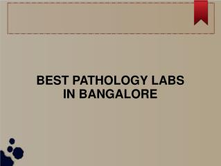 Complete blood count test lab in Bangalore