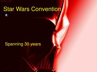 Star Wars Convention