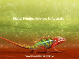 Digital Printing Services in Australia - Chameleon Print Group
