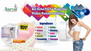 Best Herbal Pills for Weight Loss without Workout and Dieting