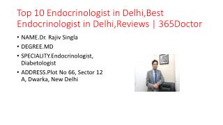 Top 10 Endocrinologist in Delhi,Best Endocrinologist in Delhi,Reviews | 365Doctor