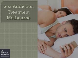 Sex Addiction Treatment Melbourne