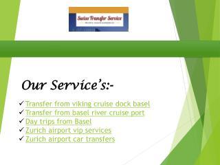 Zurich airport transfer -Airport transfer zurich -transfer-service-ch.com