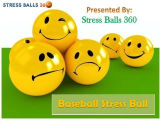 Buy Baseball Stress Ball Online | Stress Balls 360