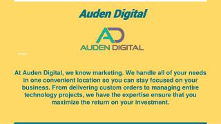 Digital Marketing in Austin - Auden Digital