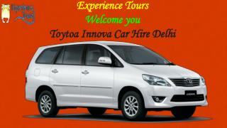 Book Toyota Innova Car Hire In Delhi for tour package