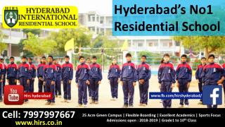 International Residential schools in Hyderabad