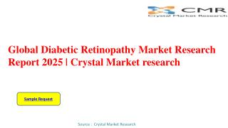 Diabetic Retinopathy Market to Rear Excessive Growth during 2016 – 2025