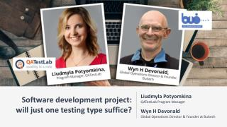 Software development project: will just one testing type suffice? (Buitech - QATestLab)