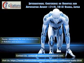 Robotics Conference 2018