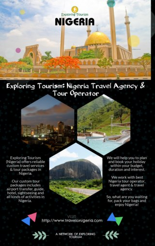 Exploring Tourism: Nigeria Travel Agency & Tour Operator