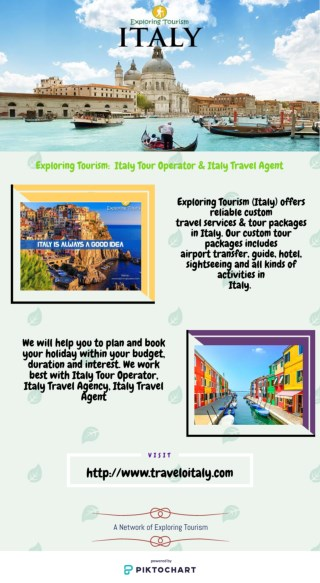 Exploring Tourism:  Italy Tour Operator & Italy Travel Agent