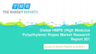 Global HMPE (High Modulus Polyethylene) Ropes Industry Analysis, Size, Market share, Growth, Trend and Forecast to 2025