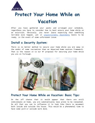 Best Home Security Systems & Alarms | House Alarm Systems