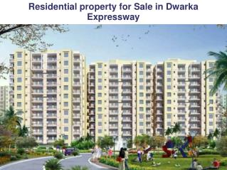 Residential Projects On Dwarka Expressway @9212306116