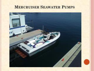 Mercruiser Seawater Pumps