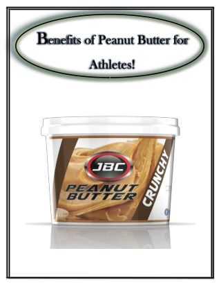1Kg Peanut Butter - JBC Nutrition