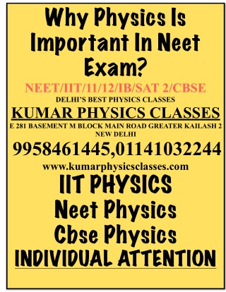 Neet Physics Is Important For Selection