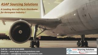 ASAP Sourcing Solutions – Our Best Catalogs For Aviation Industry