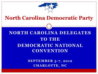 North Carolina Democratic Party