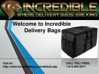 Food delivery bags
