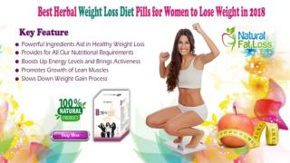 Best Herbal Weight Loss Diet Pills for Women to Lose Weight in 2018