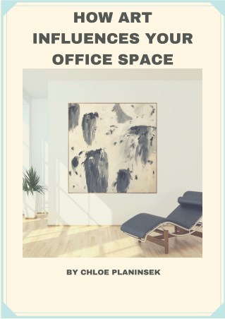 How Art Influences Your Office Space