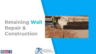 Retaining Wall Repair & Construction