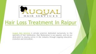 hair loss treatment in raipur
