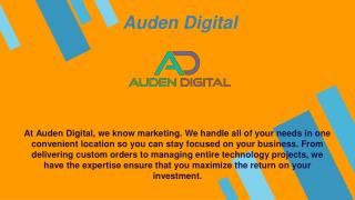 Web Design and Marketing Agency in Austin - Auden Digital