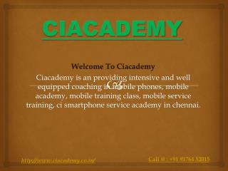 Mobile academy in chennai
