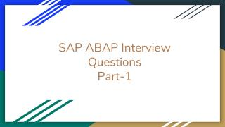 Top 10 sap abap interview questions faqs-www.bigclasses.com