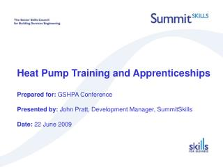 Heat Pump Training and Apprenticeships  Content