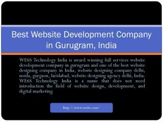 Website Development in Gurugram