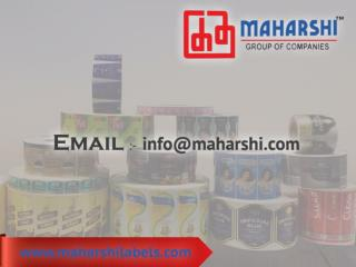 Cosmetic Labels, Paper Labels
