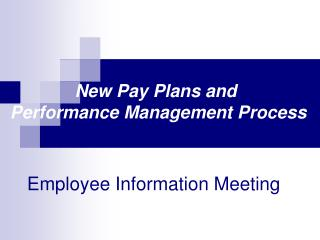 Employee Information Meeting