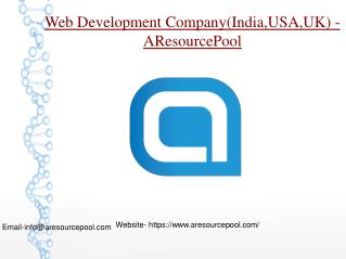 Web Development Company - USA
