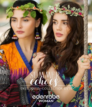 Edenrobe's Summer Echoes (Unstitched Collection S/S'18)