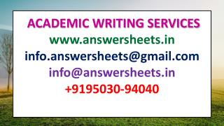 NMIMS ANSWER SHEETS