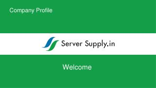 Get Online Servers: Server Supply System Pvt. Ltd.