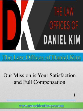 The Car Accident Lawyer - Daniel Kim