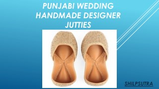 INDIAN WEDDING JUTTI