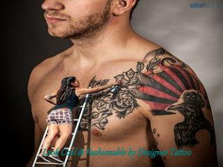 Look cool and fashional by designer tattoo