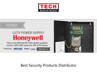 Security Products Distributor